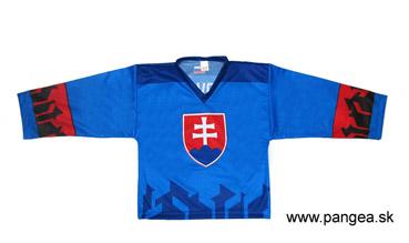 9de3491e9d469 Slovakia hokejový dres 2019 modrý pre deti empty